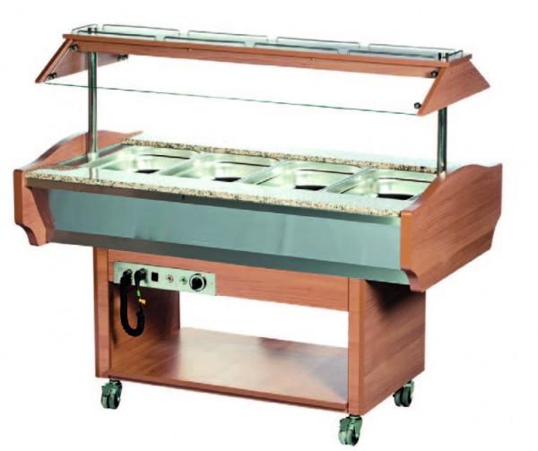 Arenal 6W Buffetserie Arenal Warmbuffet 6 x 1/1 GN 150