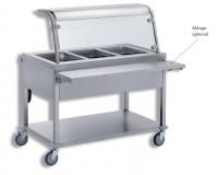 SAH 2 Speisenausgabewagen – warm 2 x 1/1 GN 200