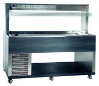 Athena 5R/F Buffetserie Kaltbuffet 5 x 1/1 GN stille Kühlung
