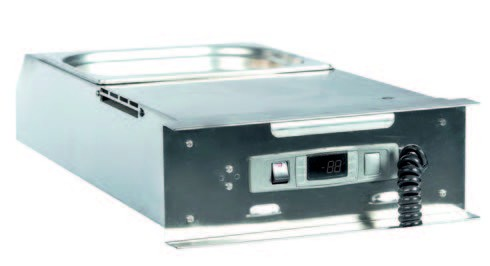 Bankett/Wärmewagen Kapazität 12 x 1/1 GN, oder 6 x 2/1 GN,100 tief