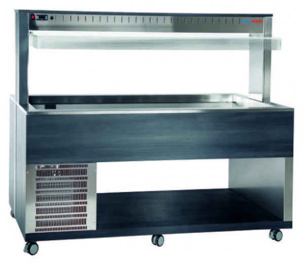 Athena 5RV/M Buffetserie Kaltbuffet 5 x 1/1 GN Umluft