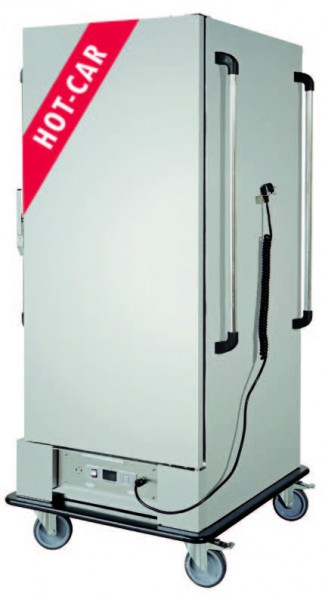 HC 2000 Bankett/Wärmewagen Kapazität 20 x 1/1 GN, oder 10 x 2/1 GN,100 tief