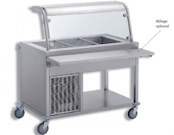 SAK 4 Speisenausgabewagen kalt 4 x 1/1 GN 200 mm